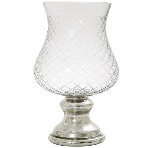 Florabelle 41cm Pineapple Glass Hurricane