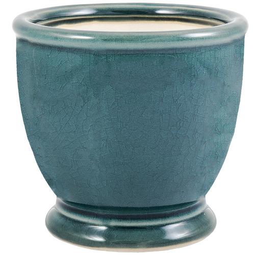 Florabelle Teal Ocean Ceramic Plant Pot