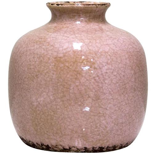 Florabelle Distressed Pink Rosa Ceramic Pot