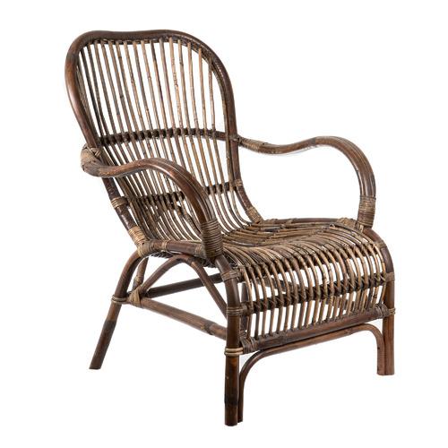 Seville Rustic Rattan Armchair