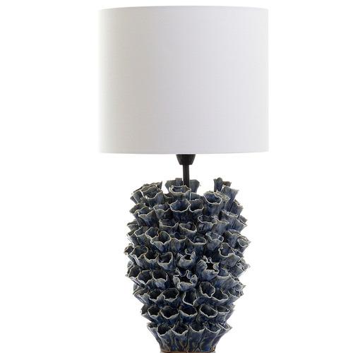 Florabelle Blue Londolozi Ceramic Table Lamp