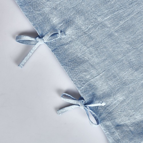 Bed by Temple & Webster Blue Vintage Wash Pure Linen Quilt Cover Set