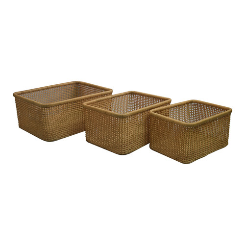 Capeview Interiors Rectangular Leo Baskets