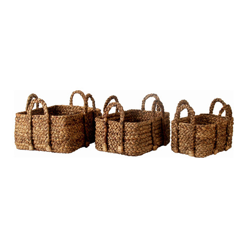 Capeview Interiors Rye Basket Trio