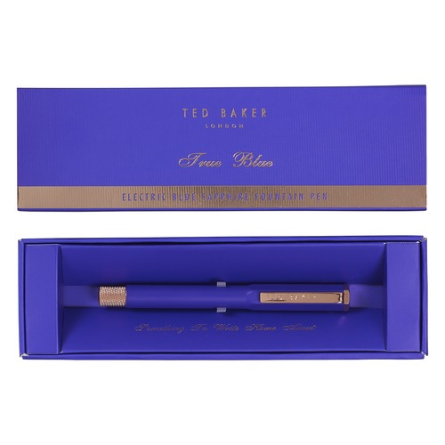 Ted Baker Electric Blue Sapphire Premium Fountain Pen