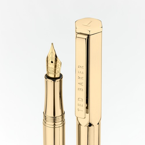 Ted Baker 24K Gold Plated Fountain Pen