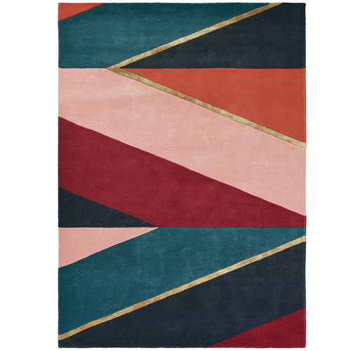 Ted Baker Pink Sahara Wool & Viscose Rug