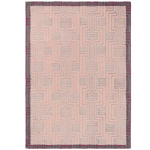 Ted Baker Pink Kinmo Wool & Viscose Rug