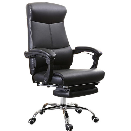 High Back Pu Leather Executive Office Chair Temple Amp Webster