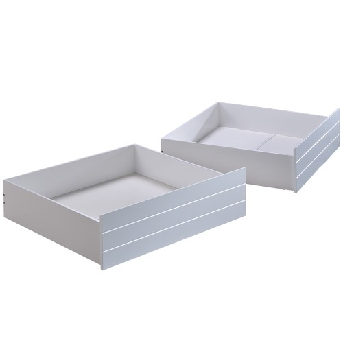 VIC Furniture Leo Single Bed with 2 Drawers