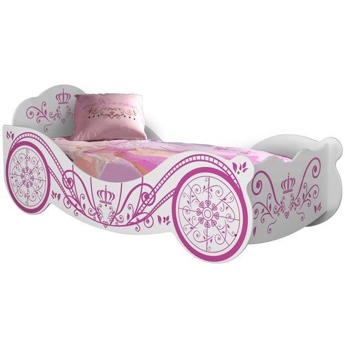 VIC Furniture White Saint Ives Single Princess Bed
