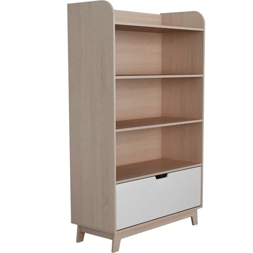 VIC Furniture Light Oak Galway Bookcase