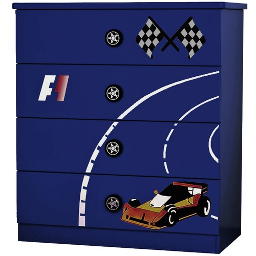 VIC Furniture Racer Chest of Drawers