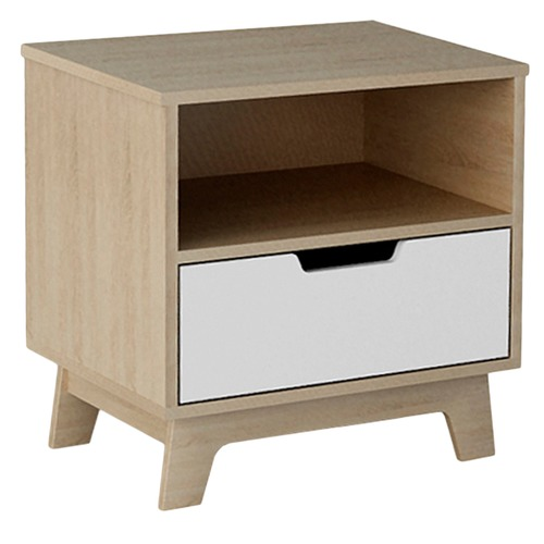 VIC Furniture Light Oak Galway Side Table