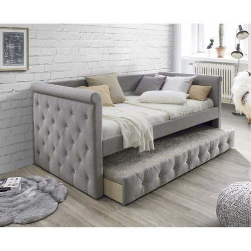 VIC Furniture Arles Single Sofa Daybed with Trundle