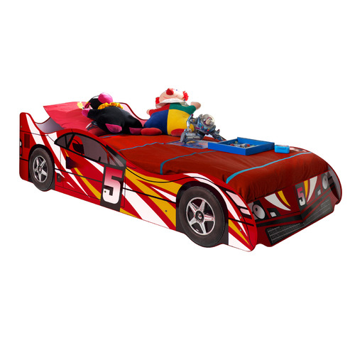 VIC Furniture Super Speed Racing Car Single Bed