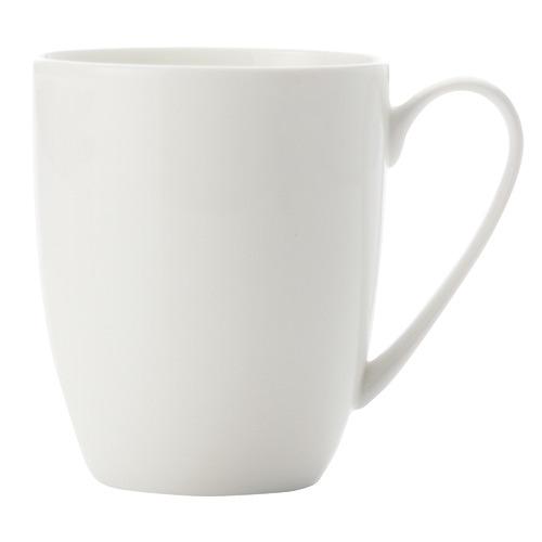 Pearlesque 350ml Fine Bone China Coupe Mug