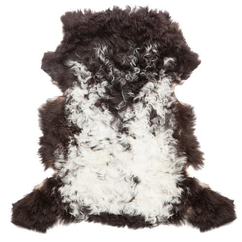 All Natural Hides and Sheepskins Mongolian Topato Sheep Rug