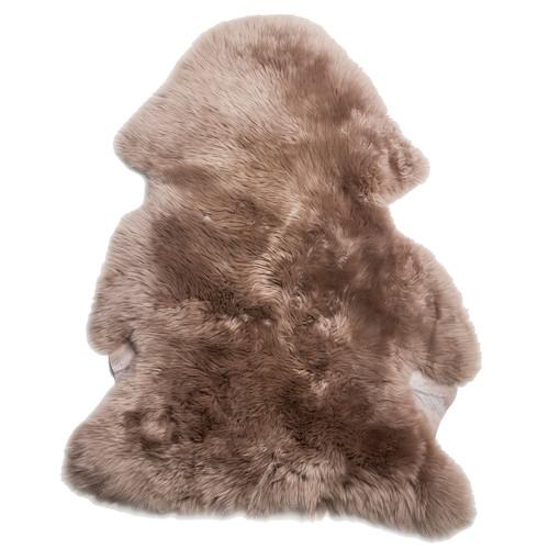 All Natural Hides and Sheepskins Soft Brown Sheepskin Rug