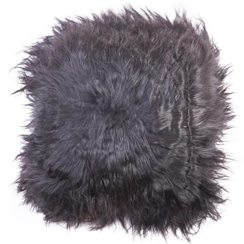 All Natural Hides and Sheepskins Icelandic Long Noir Sheep Cushion