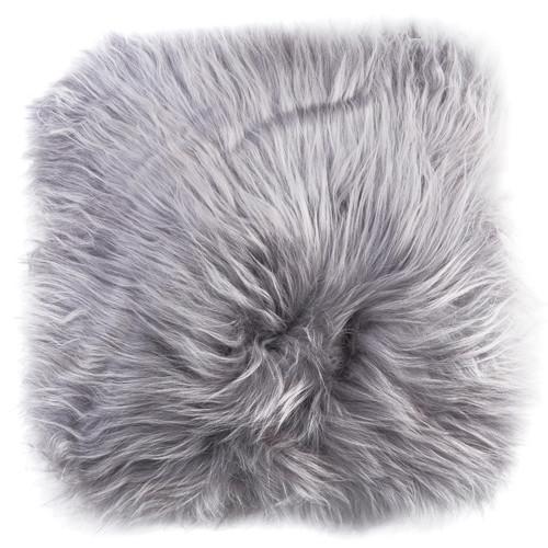 All Natural Hides and Sheepskins Icelandic Long Storm Sheep Cushion