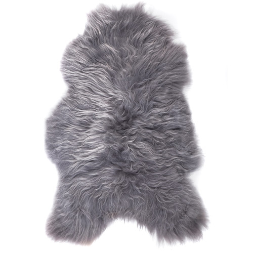 All Natural Hides and Sheepskins Icelandic Storm Sheepskin Rug