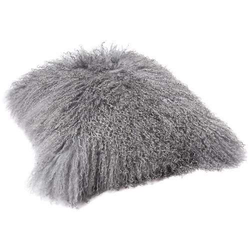 All Natural Hides and Sheepskins Serenity Mongolian Sheep Cushion