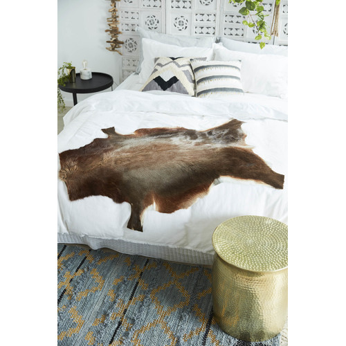 All Natural Hides and Sheepskins Natural Blesbok Hide