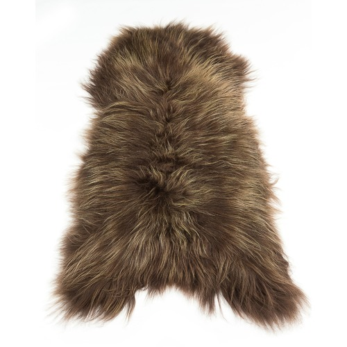 All Natural Hides and Sheepskins Chestnut Icelandic Sheepskin Rug
