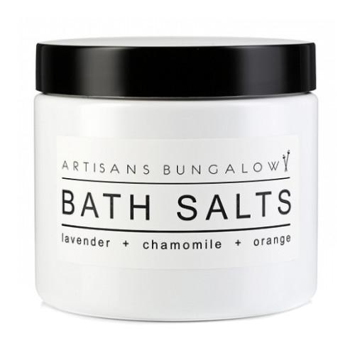 Lavender, Chamomile & Orange Bath Salts