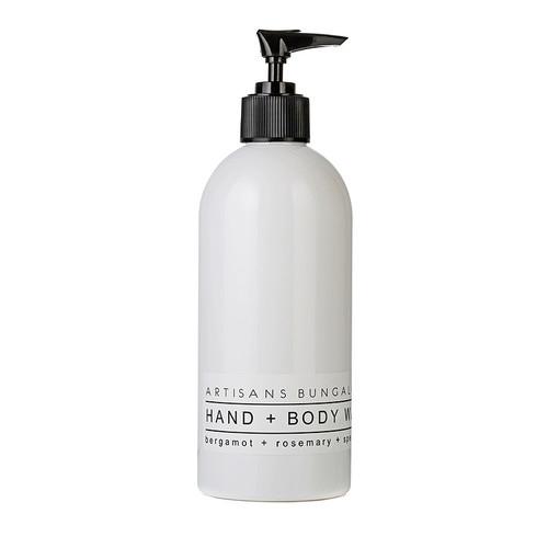 Artisans Bungalow Hand & Body Wash in Bergamot, Rosemary & Spearmint