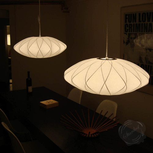 Replica George Nelson Bubble Lamp Criss Cross Saucer