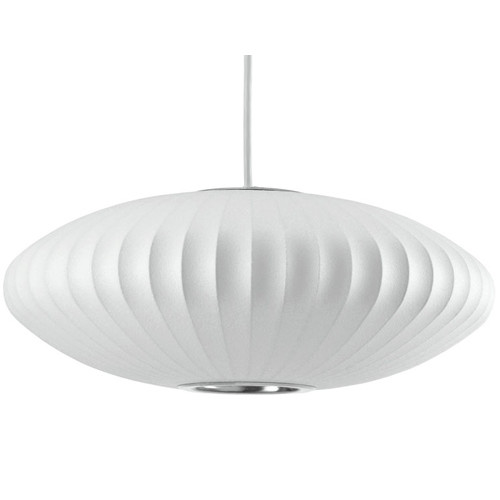 Fosani Lighting Replica George Nelson Saucer Bubble Pendant Light  sc 1 st  Temple u0026 Webster & Replica George Nelson Saucer Bubble Pendant Light | Temple u0026 Webster