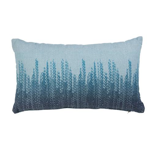 Bedding House Yulton Aqua Blue Rectangular Cushion