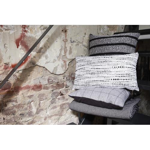 Bedding House Nimes Black Rectangular Cushion