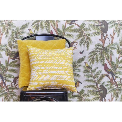Bedding House Falco Yellow Square Cushion