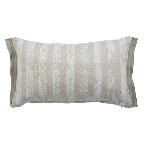 Bedding House Sturdy Stripe Sand Rectangular Cushion