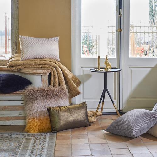 Bedding House Capital Gold Cushion