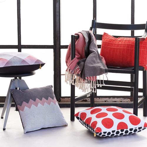 Bedding House Manacor Chevron Cotton Cushion