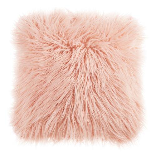 Bedding House Soft Pink Raccoon Cushion