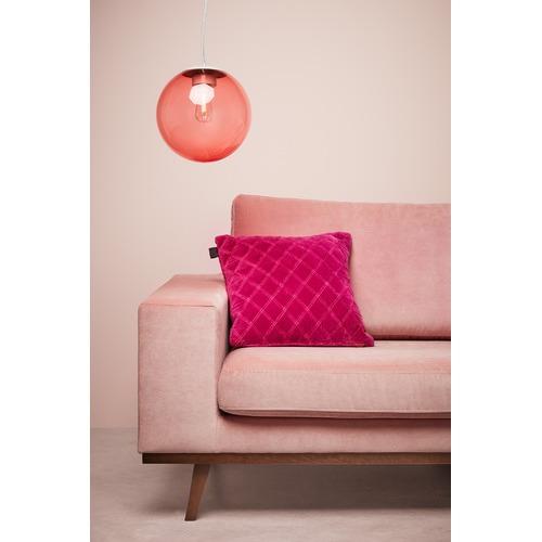 Bedding House Fuchsia Vercors Velvet Cushion