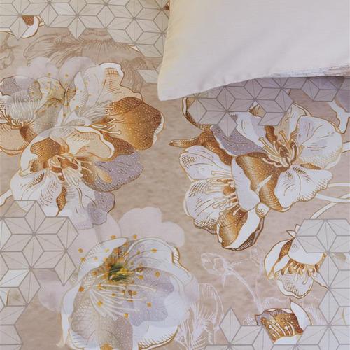 Bedding House Powder Evolve Cotton Sateen Quilt Cover Set