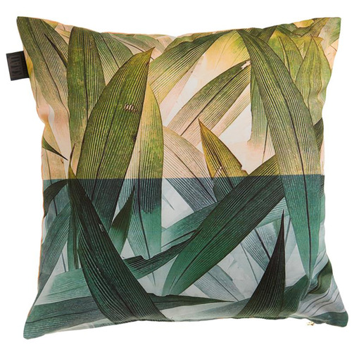 Bedding House Green Tropical Flora Cushion