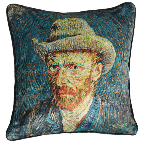 Bedding House Blue Van Gogh Cushion