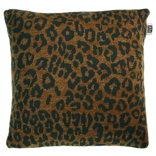 Brown Tigerlily Cushion