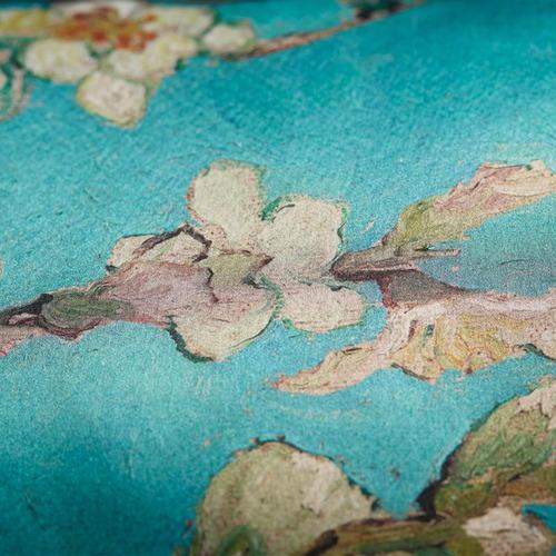 Bedding House Blue Van Gogh Blossom Cushion