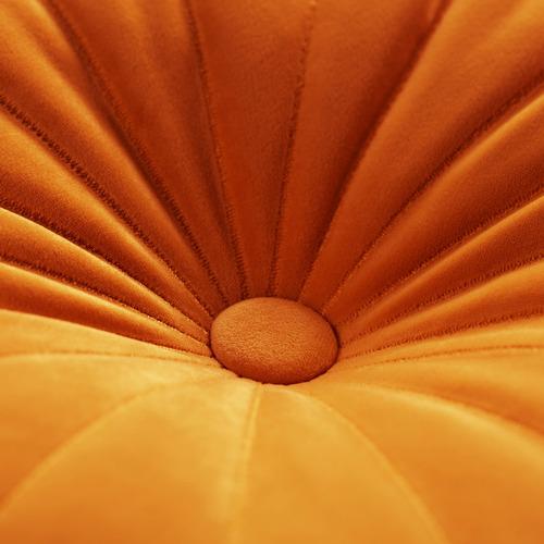 Mandarin Velvet Cushion