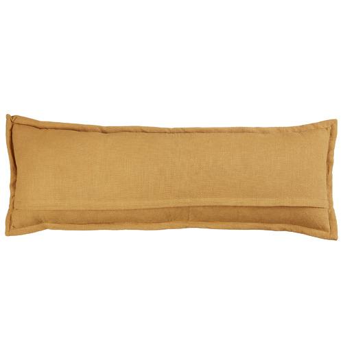 Ochre Garden Cotton Cushion
