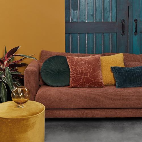 Thalia Cotton Velvet Cushion