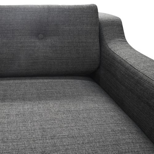 Harper & Hindley Grey Svalbard 3 Seater Sofa